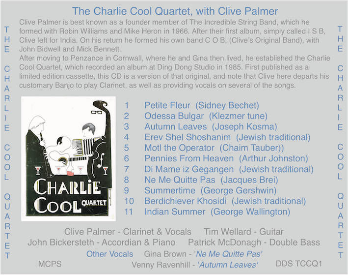 Charlie Cool CD Tray reduced